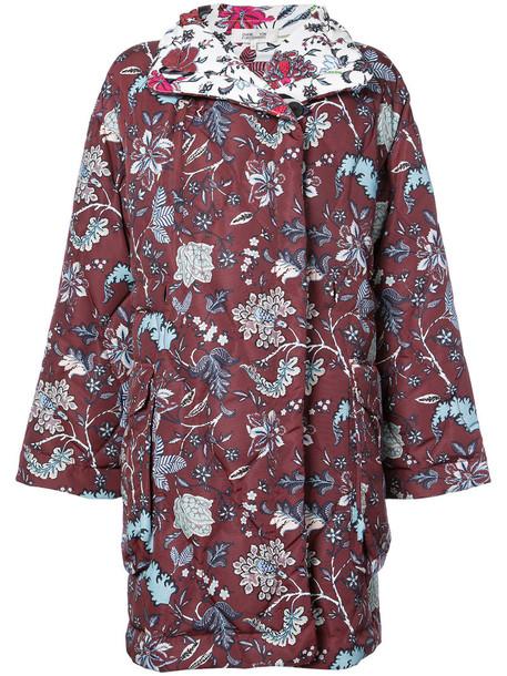 Dvf Diane Von Furstenberg coat women red