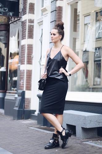 moderosa top skirt bag shoes