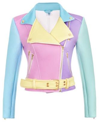 jacket colorful kawaii rainbow japan