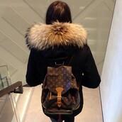 jacket,coat,fur coat,fashion,style,black coat,luxury,fabulous,amazing,fur,luxury fashion,home accessory,louis vuitton,girl,bookbag,winter outfits,instagram