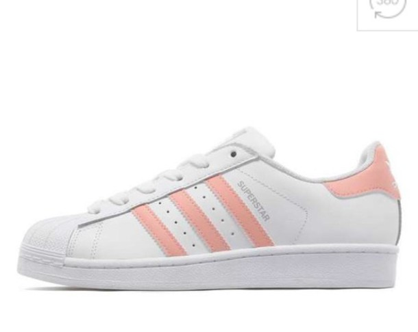 Adidas Superstars Peach