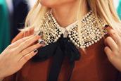 collar,col claudine,pearl,jewels