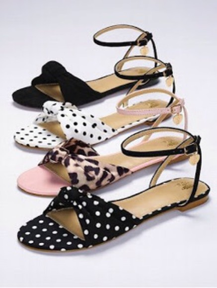 shoes polka dot sandals summer outfits 50s