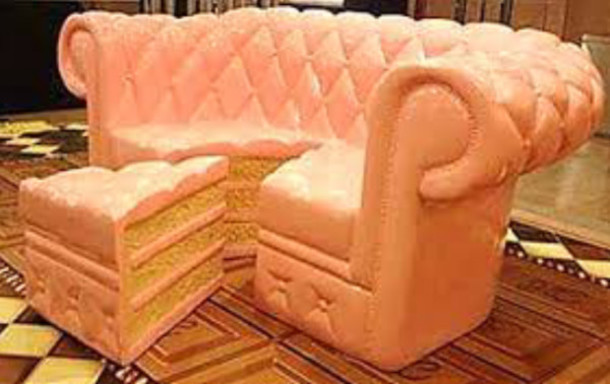 Cute Couch jewels: couch, cute, cake, home accessory, sofa - wheretoget