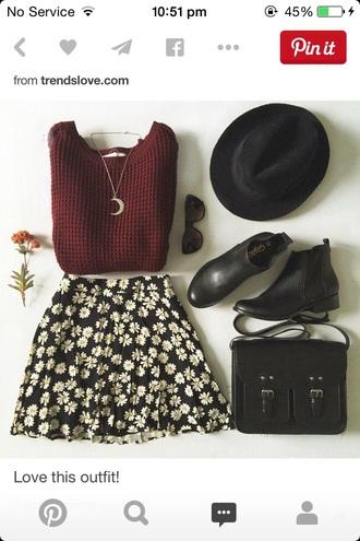 hat hats boho black hat shoes