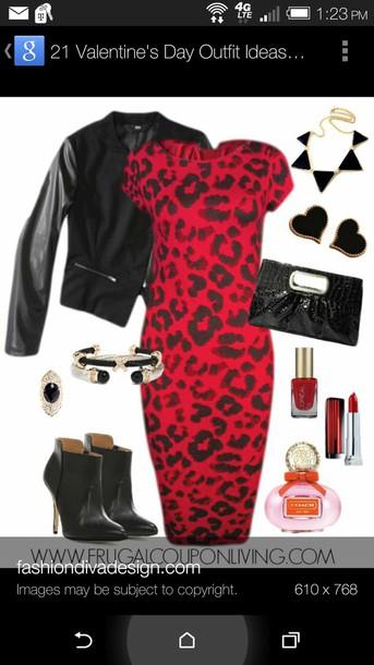 dress leopard print