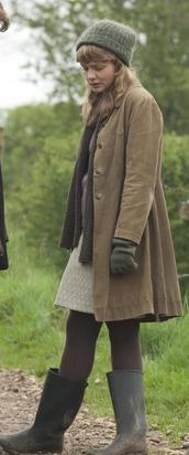 scarf,jacket