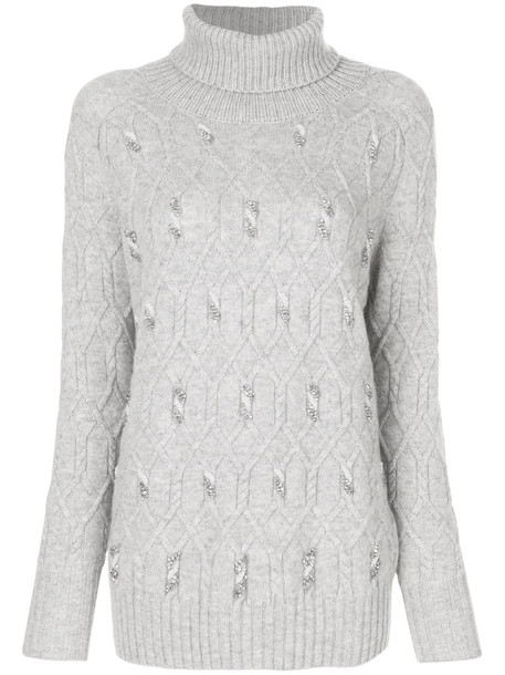 N.Peal jumper women grey sweater
