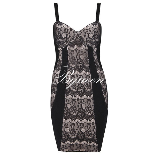 dress dress girl fashion bqueen chic sexy party evening dress event lace black straps bodycon game of thrones bandage