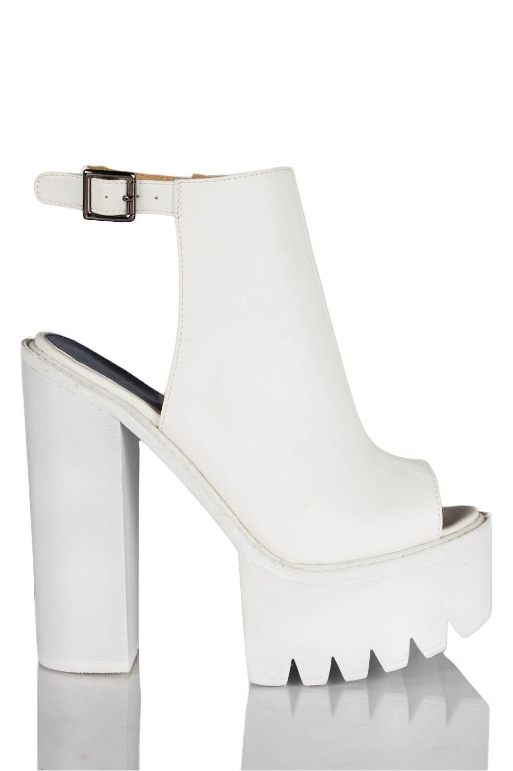 Platform Chunky Heel Shoes