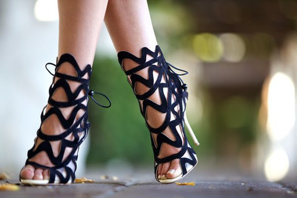 late afternoon shoes sandals high heels blogger strappy sandals party black shoes