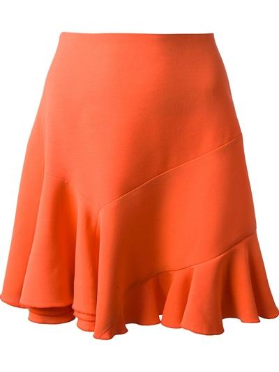 Victoria Beckham Flared Skirt - -renaissance- - Farfetch.com