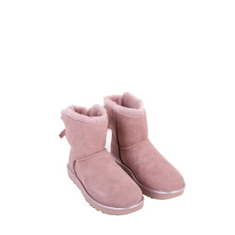 mini ankle boots pink dusty pink shoes