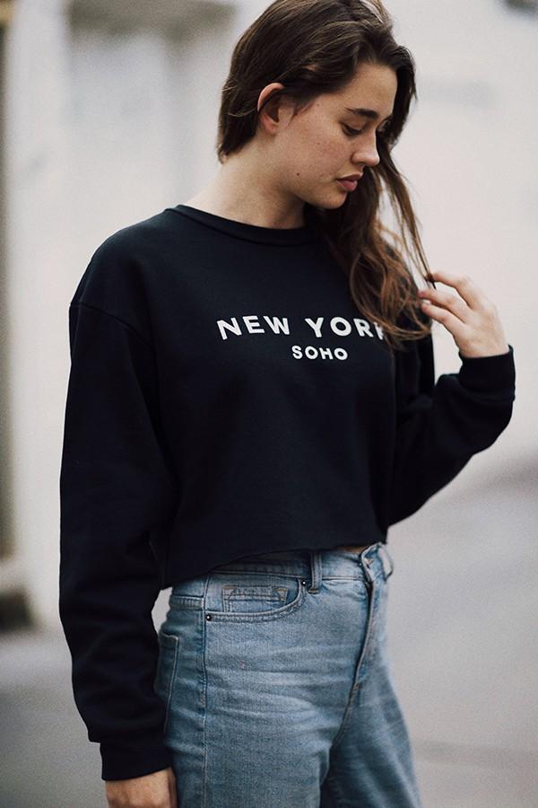 Cynthia soho, ny sweatshirt