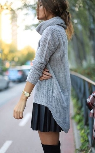 sweater turtleneck wool gray turtleneck sweater wool sweater