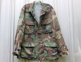 jacket army green jacket vintage rare camo jacket camouflage