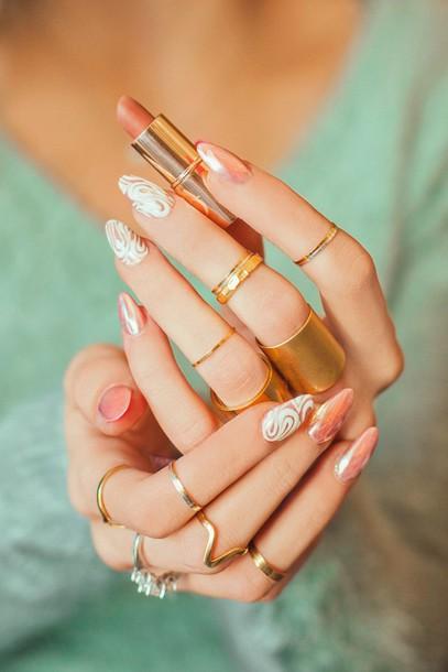 Nail polish tumblr nail art nails acrylic nails fake nails nail polish tumblr nail art nails acrylic nails fake nails jewels jewelry gold jewelry knuckle ring prinsesfo Image collections