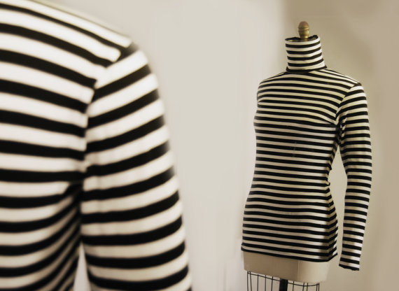Reserved for dave  black and white striped sleevless by bajasoul