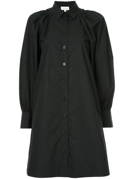 dress women cotton black
