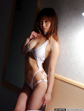 swimwear,monokini,white monokini,sexy swimwear,one piece swimsuit,erotic lingerie