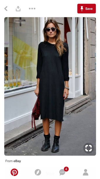 dress oversized sweater dress