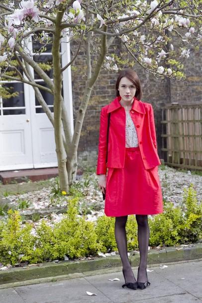 la petite anglaise skirt shoes t-shirt bag jewels