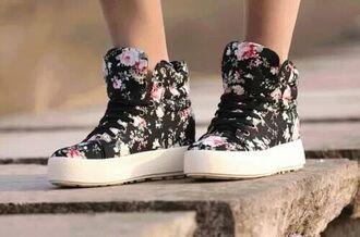 shoes floral floral flower shoes