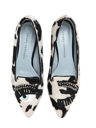 eyes loafers white black shoes