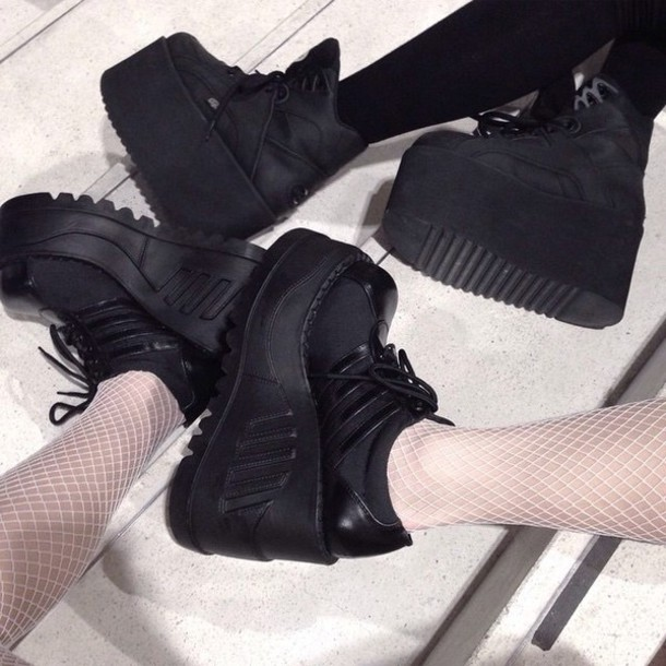 shoes triple creepers platform shoes creepers