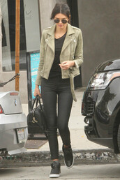 shoes,sneakers,kendall jenner,pants,jacket