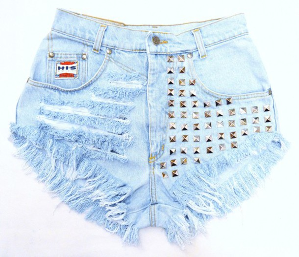 shorts jeans high waisted High waisted shorts levi's dress ripped shorts ripped jeans studded studs studded shorts high heels underwear top light blue runwaydreamz bra distressed denim shorts distressed shorts distressed high waisted jeans