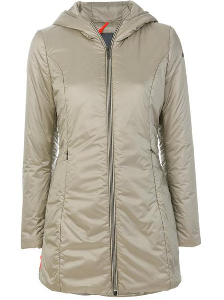 jacket long women grey