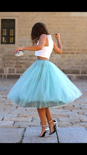 skirt,long skirt,maxi skirt,tutu,blue skirt,puffy,puffy skirt,cute skirt,tumblr skirt,dress