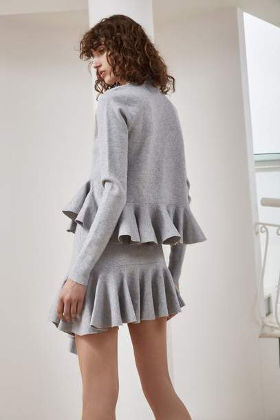 C/MEO COLLECTIVE top knit