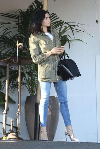 shoes pumps jenna dewan jeans jacket bag