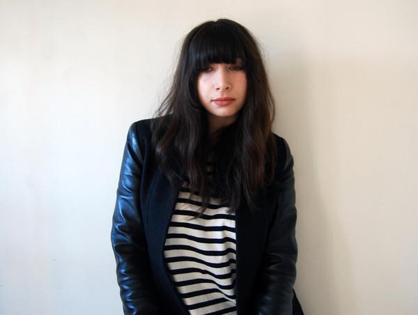 nadia bailey jacket t-shirt make-up