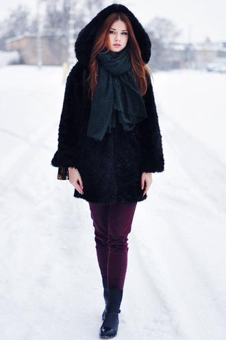 skinny liar shirt scarf pants bag shoes
