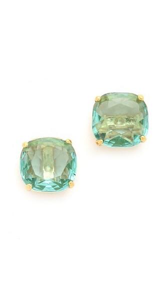 earrings stud earrings blue jewels