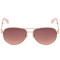 Take on me aviator sunglasses - rose gold