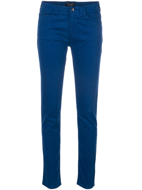 ARMANI JEANS jeans skinny jeans women spandex cotton blue