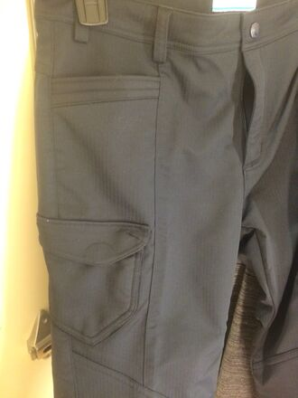 pants columbia omni-shade polyester nylon black rn 89674 yl8260 made in vietnam women's back pockets cargo pants not convertible