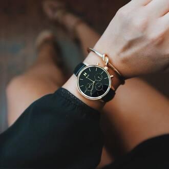 jewels mvmt watches mvmt watch black watch bracelets gold bracelet accessories accessory