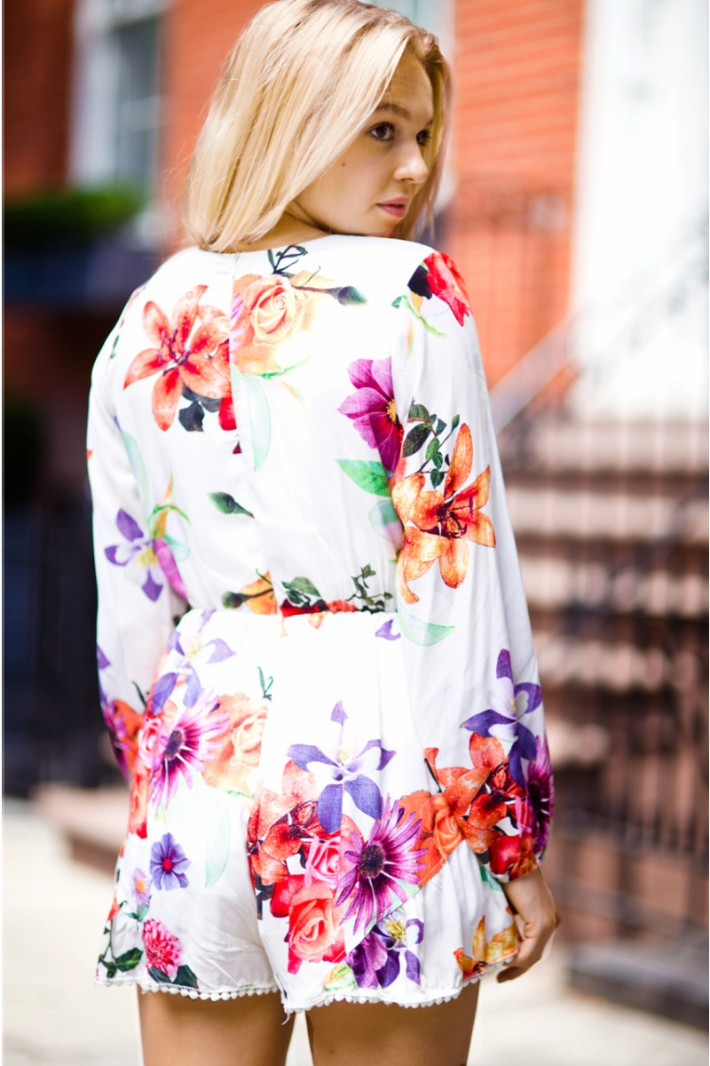 In Bloom Romper | Haute Rogue
