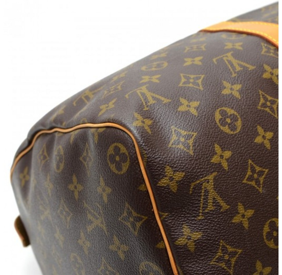 Louis vuitton vintage keepall 45 monogram canvas duffle travel bag
