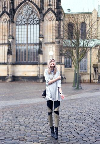 bekleidet blogger leggings