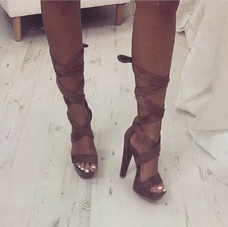 shoes heels strappy heels chunky boots chunky heels pumps