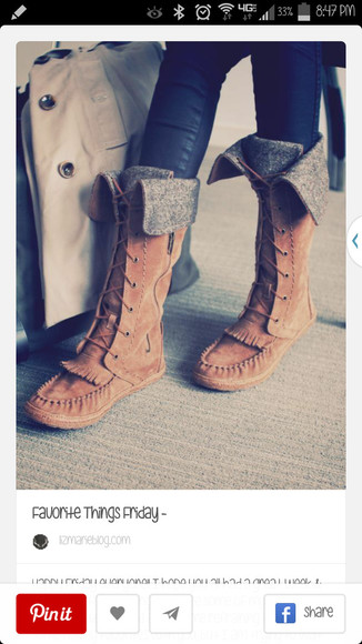 moccasins shoes boots moccasin boots boho fall outfits