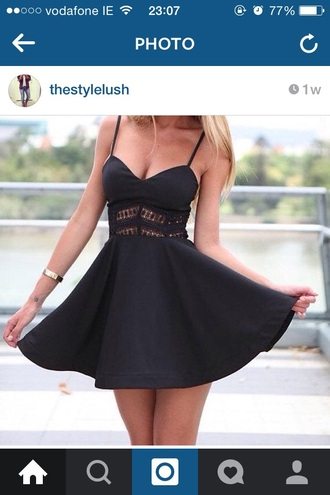 dress black dress lace dress sweetheart dresses skater dress