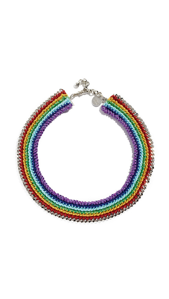 Venessa Arizaga Chasing Rainbow Necklace in multi