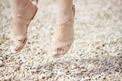 see by chloé,chloe,nude sandals,nude,nude shoes,sandals,flat sandals,shoes